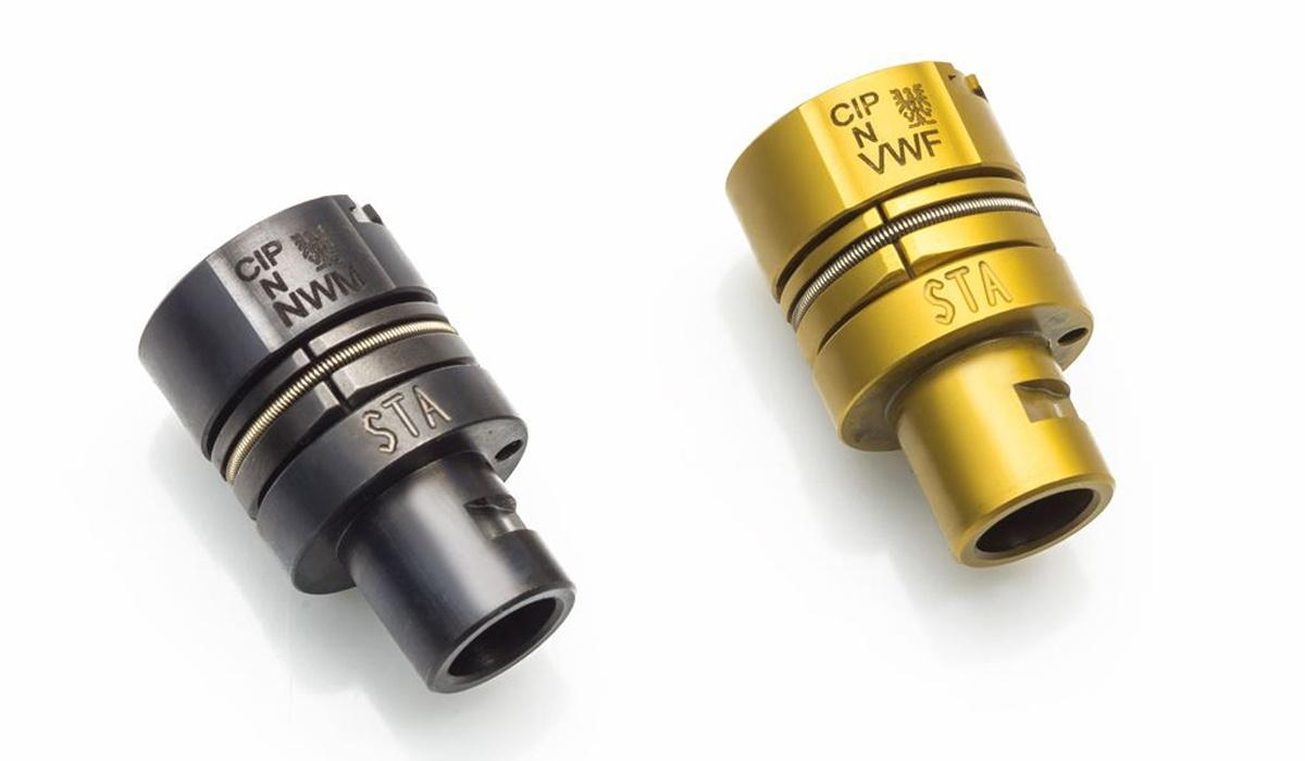 Verschluss Gold - Schwarz
